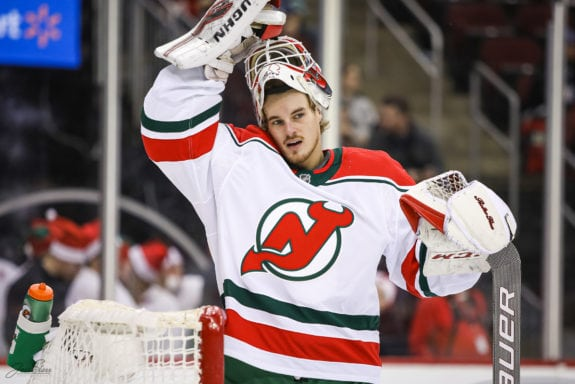 Gilles Senn New Jersey Devils