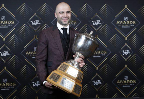 Mark Giordano Norris Trophy