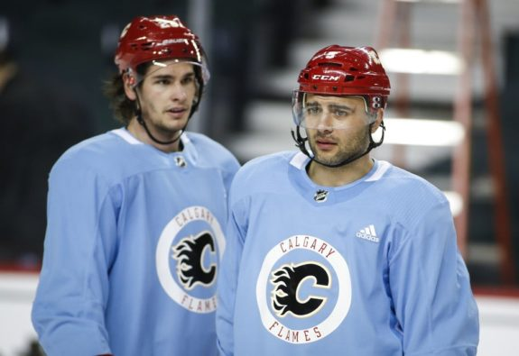 Mark Giordano, Sean Monahan