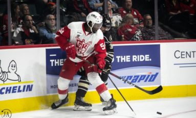 Red Wings Prospect Givani Smith is Proving He Belongs
