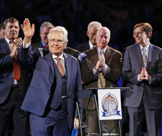 Glen Sather Edmonton Oilers Presdient and General Manager