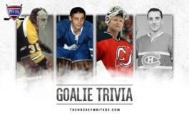 Do You Know Your NHL Goalie Trivia?