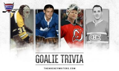 Do You Know Your NHL Goalie Trivia?