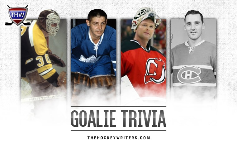 Martin Brodeur Jacques Plante Gerry Cheevers Terry Sawchuk