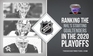 Ranking the NHL's Starting Goaltenders in the 2020 Playoffs