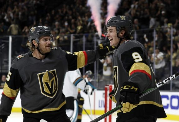 Vegas Golden Knights Jon Merrill Cody Glass