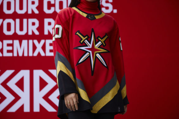 Vegas Golden Knights Reverse Retro jersey