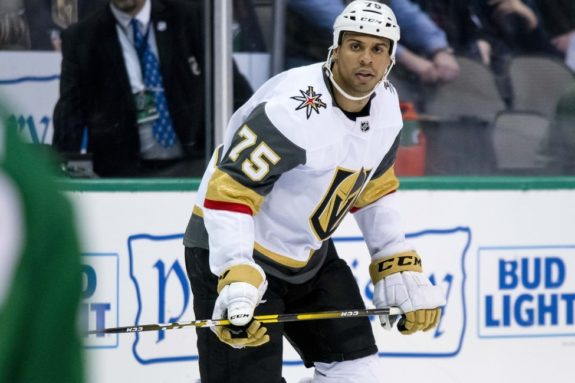 Vegas Golden Knights Ryan Reaves