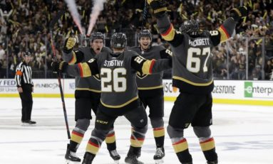 Golden Knights Report Cards: Forwards
