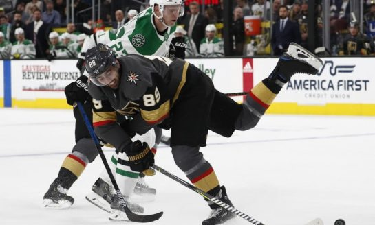 Golden Knights Top Stars - Tuch With Game Winner