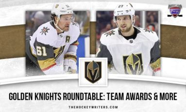 Golden Knights Roundtable: Team Awards, Memorable Moments & the Playoffs