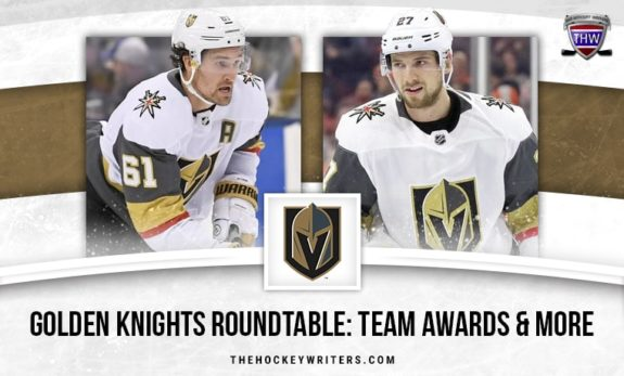 Vegas Golden Knights Roundtable Team Awards & More Mark Stone and Shea Theodore