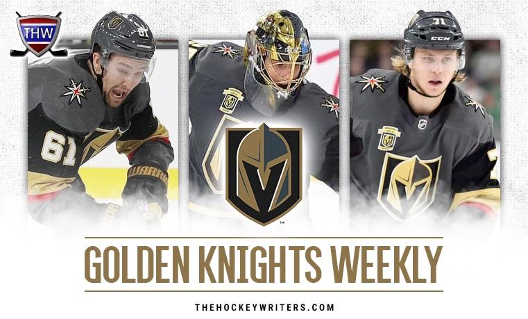 Vegas Golden Knights Weekly Marc-Andre Fleury Mark Stone William Karlsson