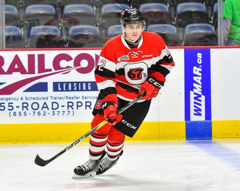 Graeme Clarke Ottawa 67's