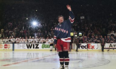 New York Rangers and 99: When Gretzky Hung' Em Up