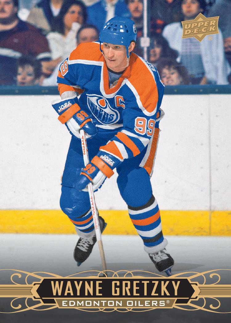 2020-21 Upper Deck Tim Hortons Wayne Gretzky