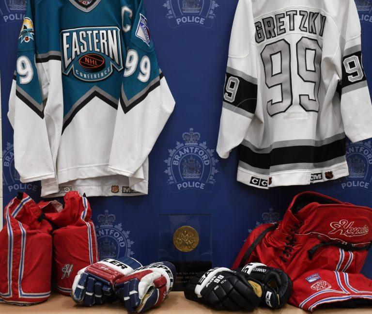 Wayne Gretzky memorabilia compilation