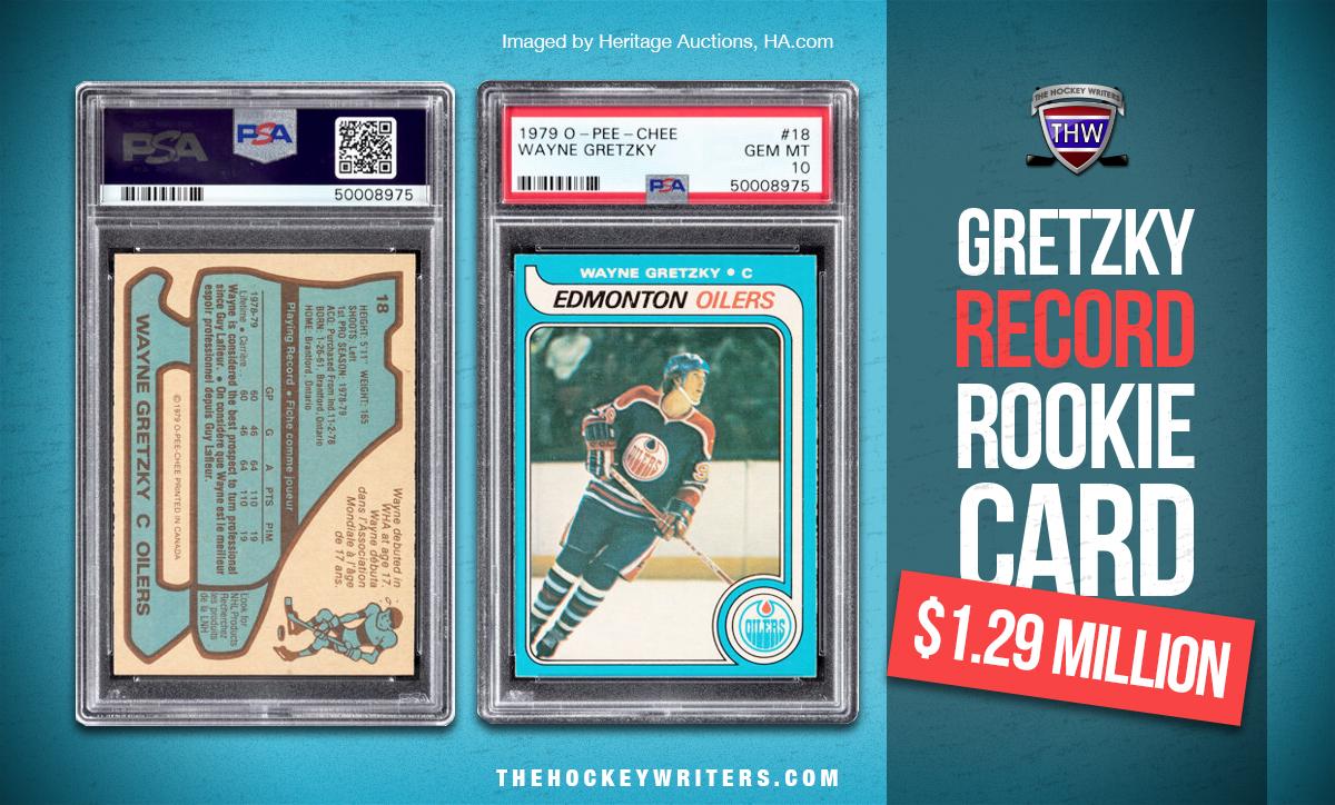1979-80 O-Pee-Chee Wayne Gretzky rookie card $1.29 million Record