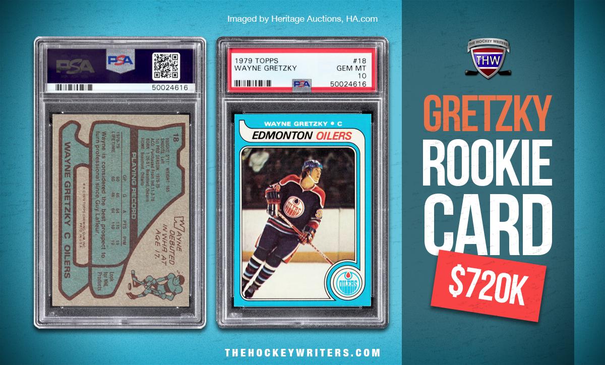 1979-80 Topps Wayne Gretzky rookie card $720K