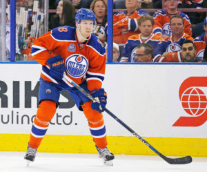 Edmonton Oilers defensemen Griffin Reinhart (Perry Nelson-USA TODAY Sports)