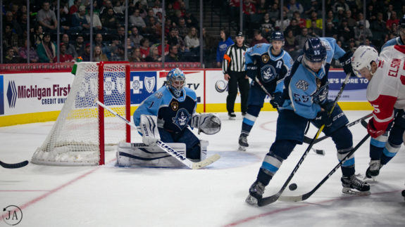 Milwaukee Admirals Alexandre Carrier Troy Grosenick
