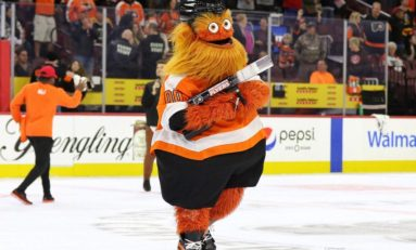 Flyers Mascot Takes Hockey World by Storm