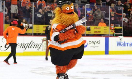 Flyers Mascot Takes Hockey World by Storm