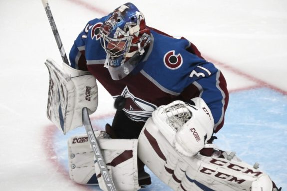 Colorado Avalanche Philipp Grubauer