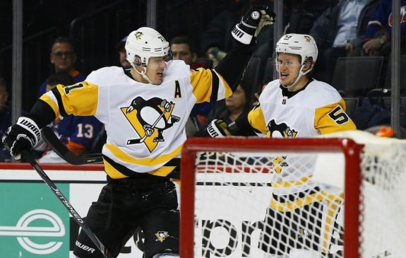 Pittsburgh Penguins Evgeni Malkin Jake Guentzel
