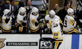 Penguins Down Ducks on Guentzel's Hat Trick