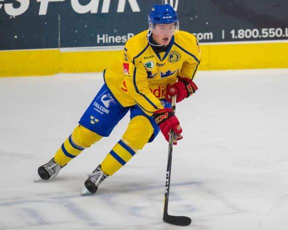 Gustav Lindstrom Team Sweden