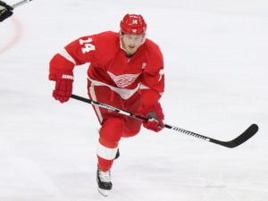 Gustav Nyquist, Detroit Red Wings, NHL