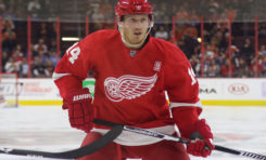 Red Wings' Nyquist Raising Trade Value