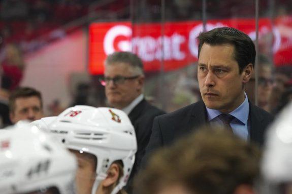 Senators head coach Guy Boucher