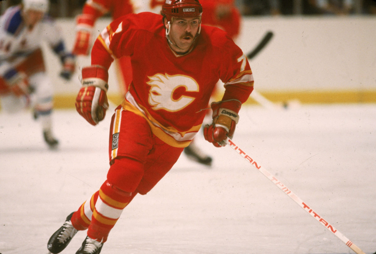 Guy Chouinard Calgary Flames