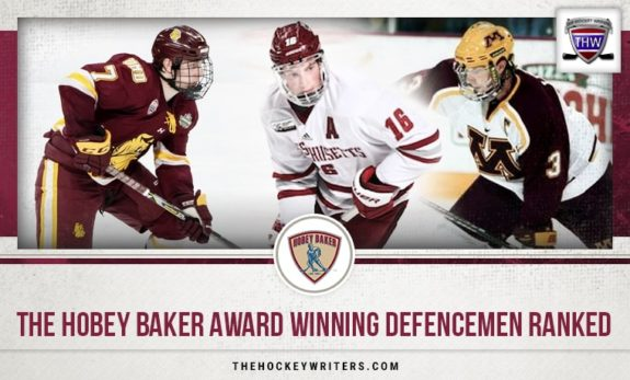The Hobey Baker Award Winning Defencemen Ranked