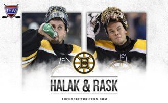 Bruins' Rask & Halak Trending in Opposite Directions