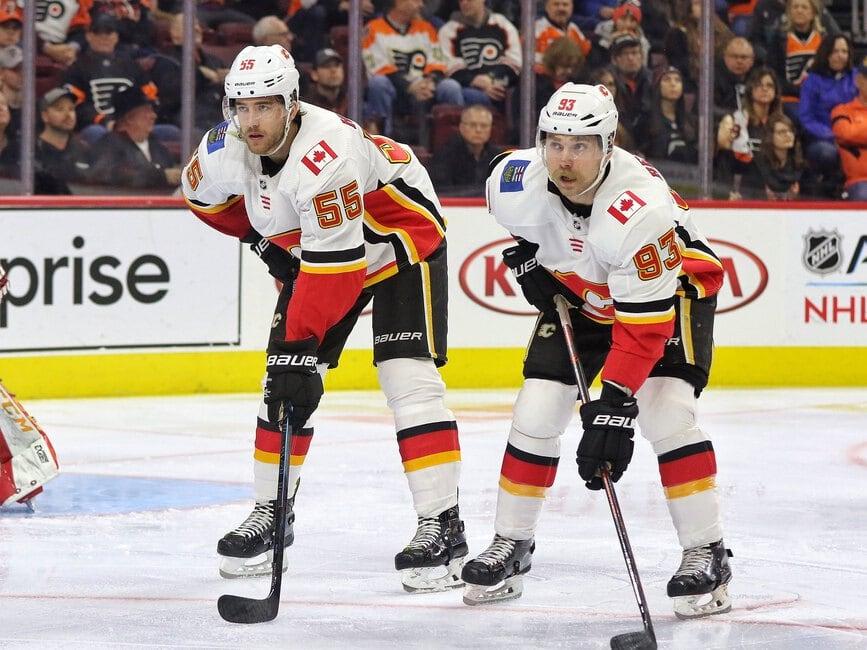 Noah Hanifin Sam Bennett Calgary Flames