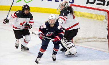 Gold Medalist Brandt Joins NWHL, Whitecaps