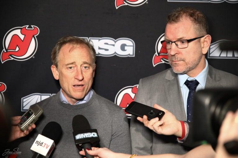 Josh Harris Tom Fitzgerald New Jersey Devils