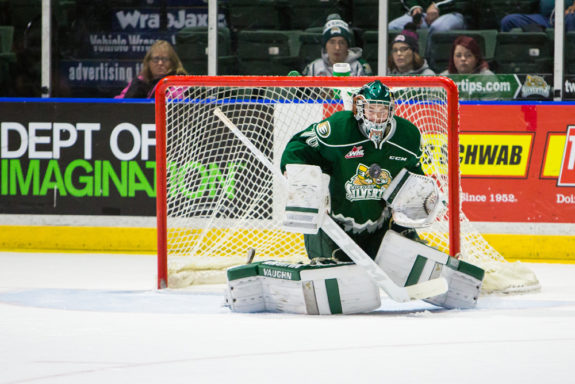 Christopher Mast, Everett Silvertips, Carter Hart