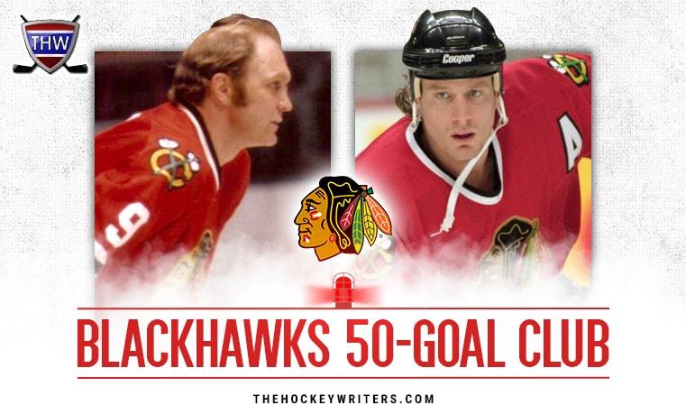 Chicago Blackhawks 50-Goal Scorers 5d929e869