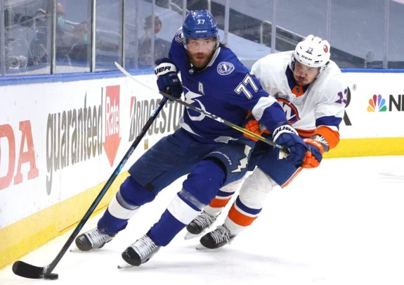 Victor Hedman Tampa Bay Lightning Mathew Barzal New York Islanders