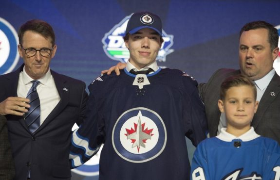 Winnipeg Jets Ville Heinola Draft