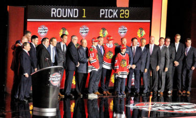 Blackhawks Execute Draft Strategy