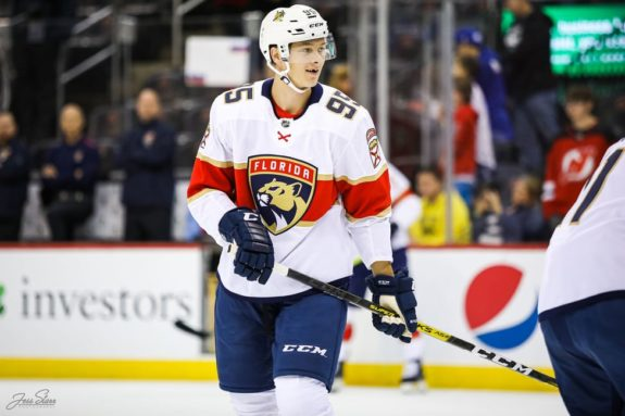Henrik Borgstrom Florida Panthers