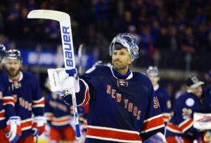New York Rangers goalie Henrik Lundqvist