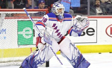 Lundqvist's Lack of Usage Has Put Future with Rangers in Doubt