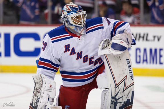 Henrik Lundqvist New York Rangers career numbers and statistics