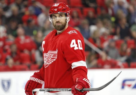 Red Wings center Henrik Zetterberg